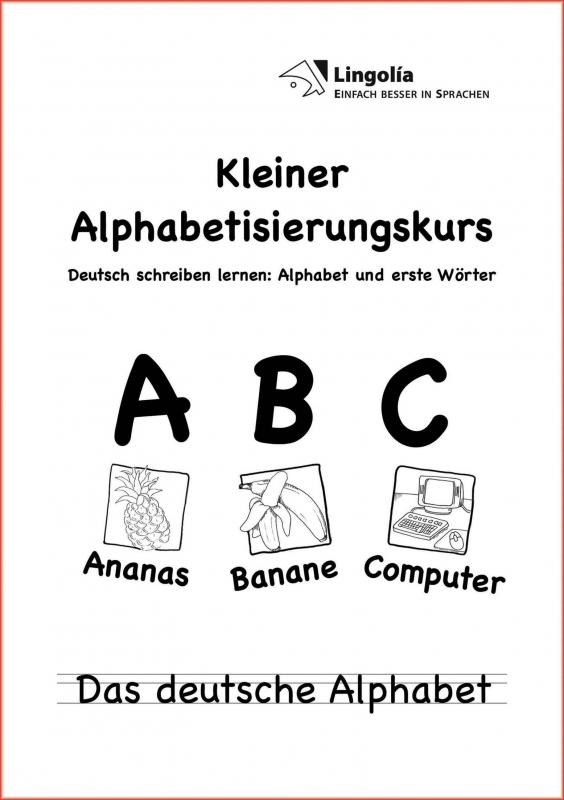 Kleiner Alphabetisierungskurs (10er-Pack)