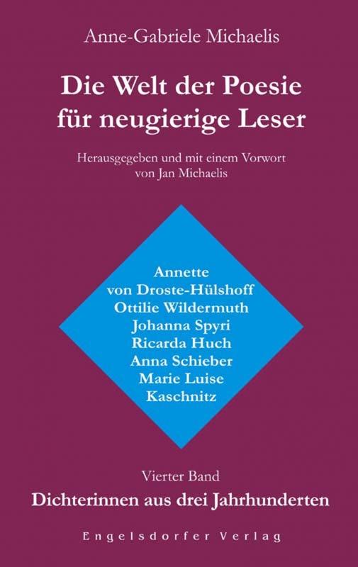 Die Welt der Poesie für neugierige Leser (4): Dichterinnen aus drei Jahrhunderten