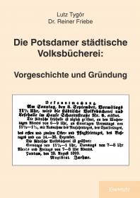 Die Potsdamer städtische Volksbücherei: Vorgeschichte und Gründung