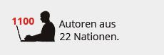 350 Autoren aus 27 Nationen.