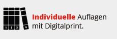 Individuelle Auflagen mit Digitalprint.